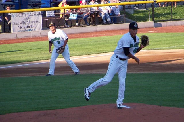 Seattle Mariners RHP Taijuan Walker on the mound for the 2011 Clinton LumberKings. (Photo by Craig Wieczorkiewicz/The Midwest League Traveler)