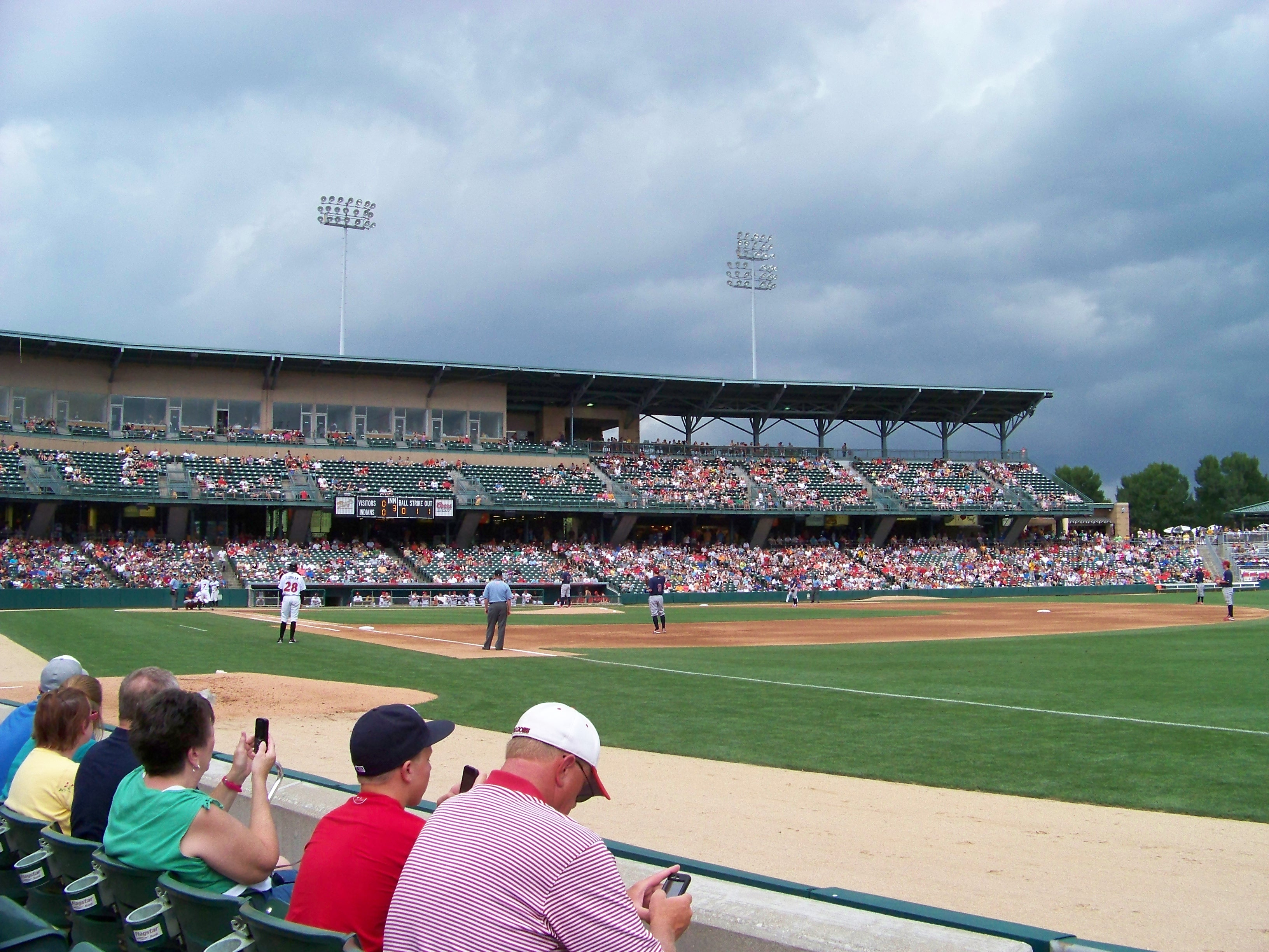 Ballpark Review Victory Field Home Of The Indianapolis