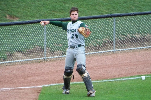 San Diego Padres catcher Austin Hedges played for the Fort Wayne TinCaps in 2012. (Photo by Craig Wieczorkiewicz/The Midwest League Traveler)