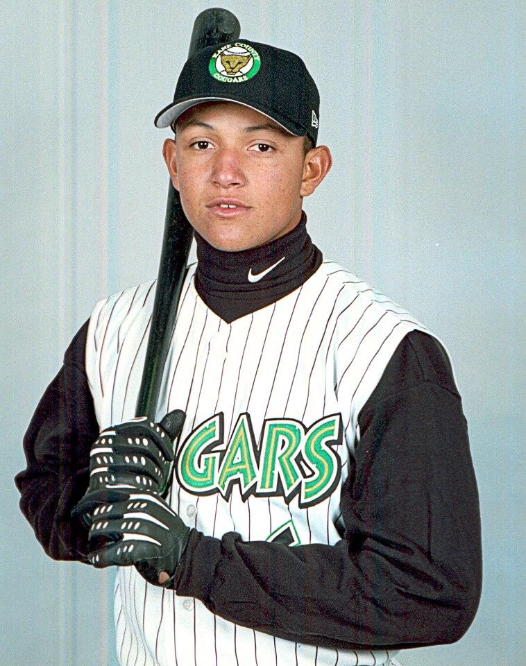 Miguel Cabrera 2001 Kane County Cougars