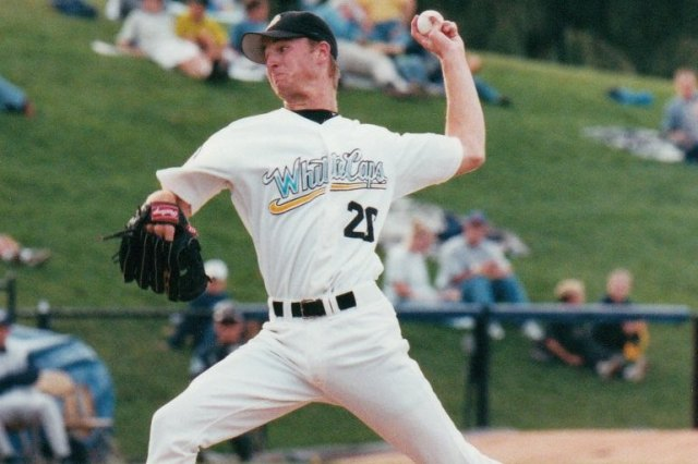 LHP Andy Van Hekken will be inducted into the Whitecaps Hall of Fame this month.