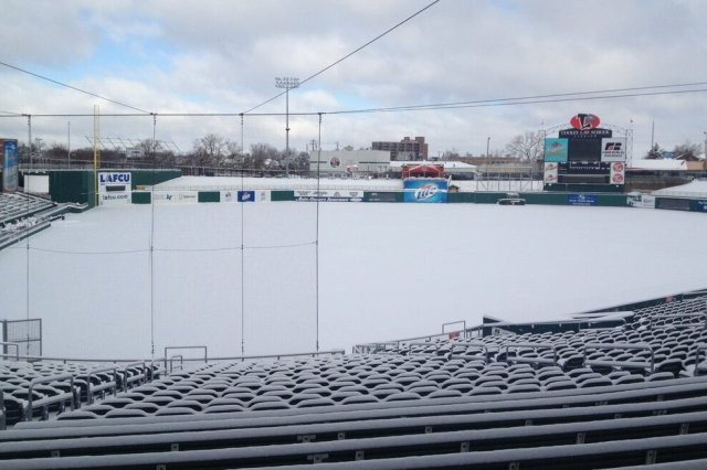 Cooley Law School Stadium, home of the Lansing Lugnuts