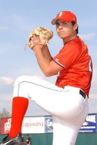 2005 Cedar Rapids Kernels RHP Fernando Rodriguez (Photo courtesy of The Sprouting News)