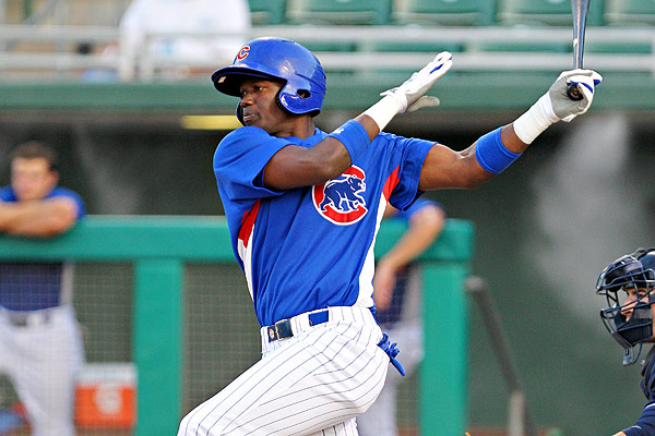 OF Jorge Soler is the third-best prospect in the Chicago Cubs system, according to Baseball America.