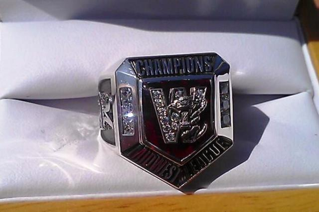 T-Rats championship ring
