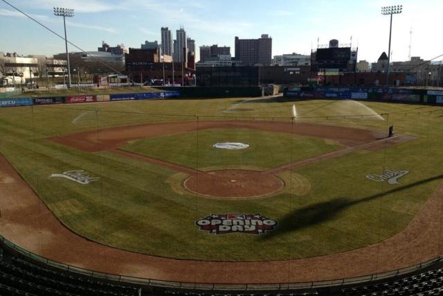 Peoria Chiefs Stadium on Opening Day, 2013