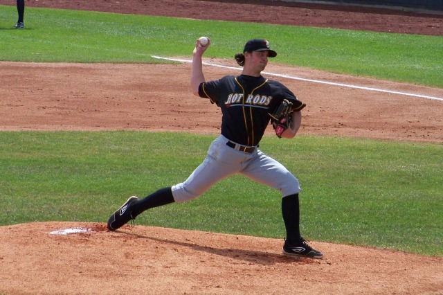 Bowling Green Hot Rods RHP Taylor Guerrieri