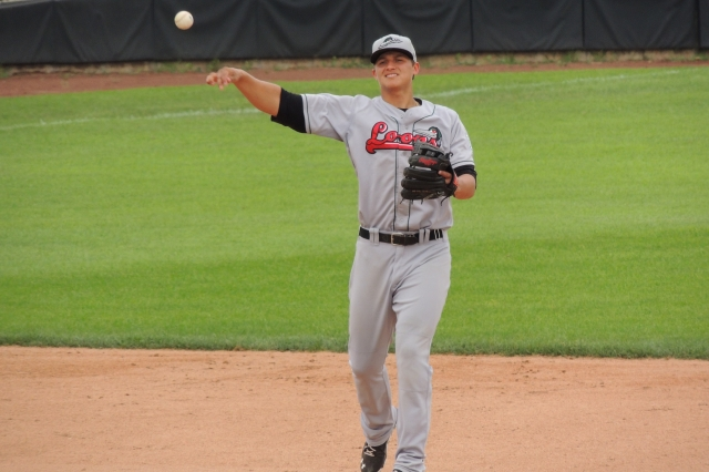 Los Angeles Dodgers SS Corey Seager played for the Great Lakes Loons in 2013. (Photo by Craig Wieczorkiewicz/The Midwest League Traveler)
