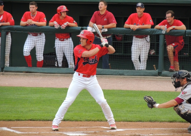 New Chicago White Sox outfielder Charlie Tilson played for the Peoria Chiefs in 2013. (Photo by Craig Wieczorkiewicz/The Midwest League Traveler)