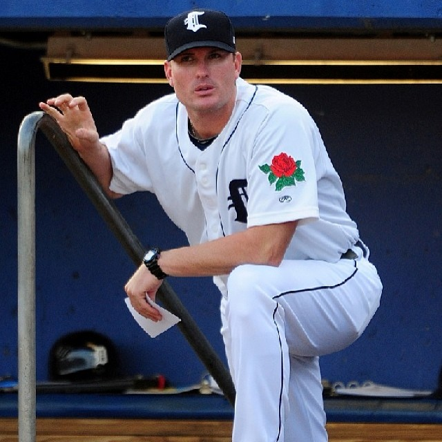 New Whitecaps manager Andrew Graham was skipper of the short-season Connecticut Tigers the past three seasons. (Photo courtesy of the West Michigan Whitecaps)