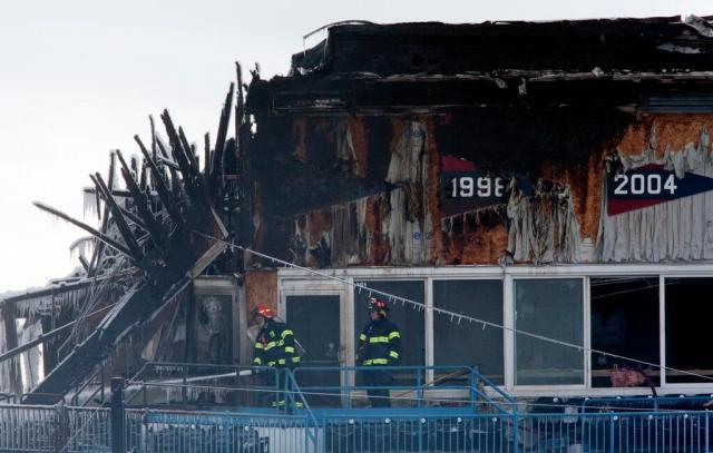 destruction from fire