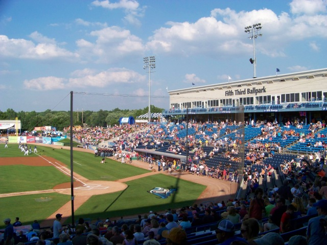 Fifth Third Ballpark in 2011. (Photo by Craig Wieczorkiewicz/The Midwest League Traveler)