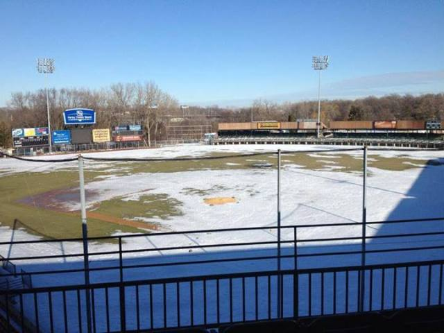 Kane County's Fifth Third Bank Ballpark on Monday. (Photo courtesy of the Kane County Cougars)