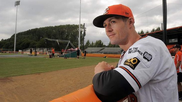 Canberra Cavalry manager Michael Collins will manage the Fort Wayne TinCaps this year. (Photo by Graham Tidy/The Canberra Times)