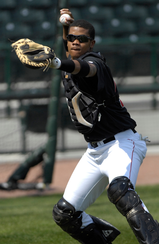 Los Angeles Dodgers closer Kenley Jansen was a catcher for the Great Lakes Loons in 2007-08. (Photo from From The Nest blog)