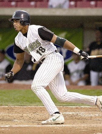 Nelson Cruz playing with the 2003 Kane County Cougars