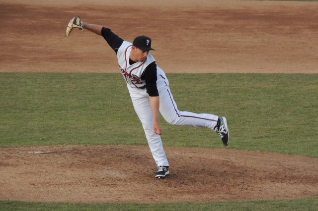 Lugnuts LHP Griffin Murphy struck out five batters and gave up only one hit in 3 IP.