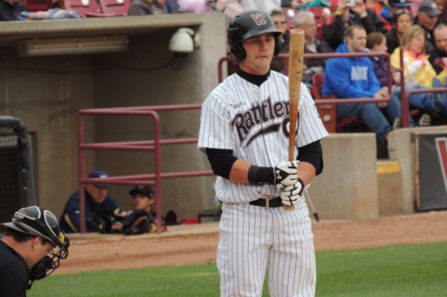 Clint Coulter was Wisconsin's designated hitter Tuesday.