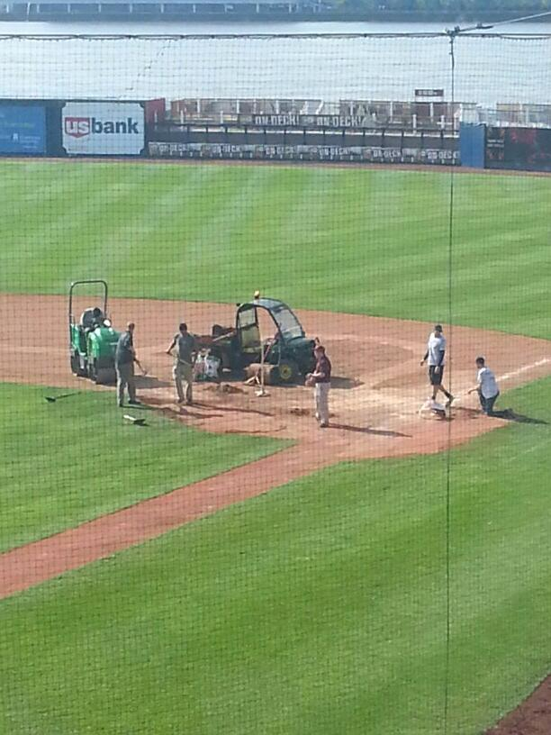 MWP grounds crew working