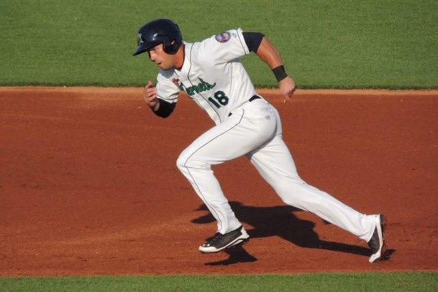 Chad Christensen kept the Kernels offense running Wednesday.