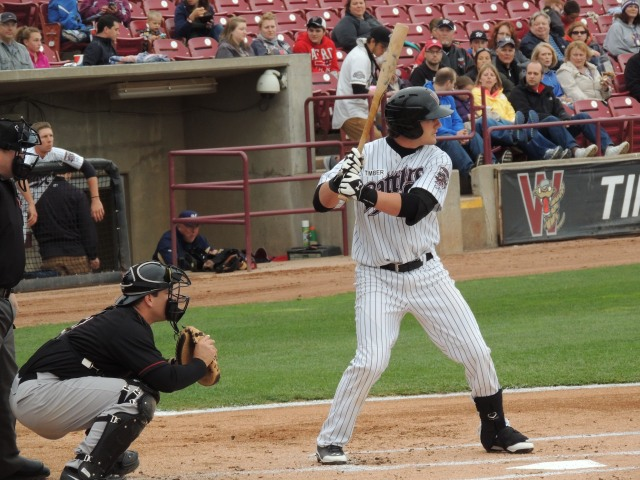 Wisconsin Timber Rattlers C Clint Coulter
