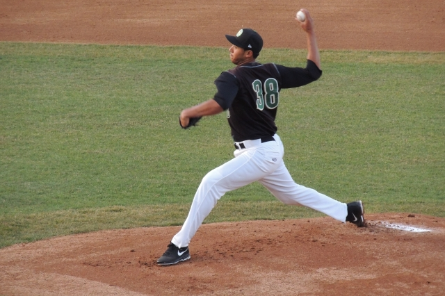 Kane County Cougars RHP Daury Torrez (Photo by Craig Wieczorkiewicz/The Midwest League Traveler)