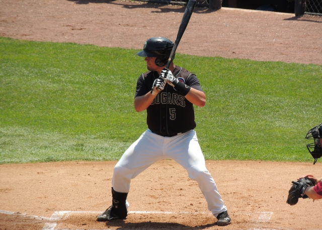 Kane County Cougars C Kyle Schwarber was the top pick of the Chicago Cubs in this year's draft.