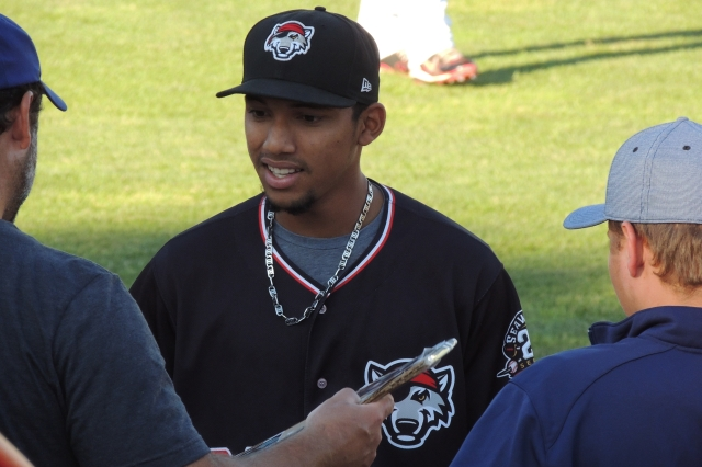 SeaWolves SS Dixon Machado played with the Whitecaps in 2011.