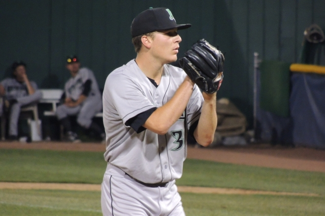 Dayton Dragons RHP Nick Howard