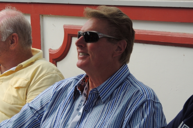 "Steve ""Lefty"" Carlton was among the former MLB stars I saw signing autographs on Main Street."