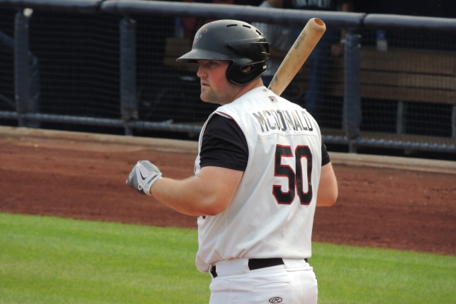 Quad Cities River Bandits 1B Chase McDonald