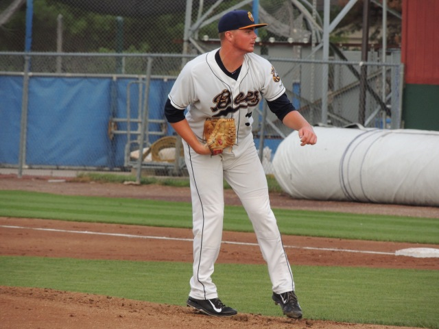 Burlington Bees SP Sean Newcomb has given up four earned runs in each of his last two starts.