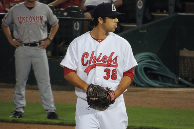 Peoria Chiefs RHP Kyle Barraclough