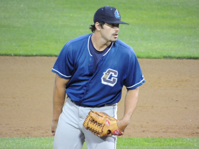 Lake County Captains RHP Caleb Hamrick (Photo by Craig Wieczorkiewicz/The Midwest League Traveler)