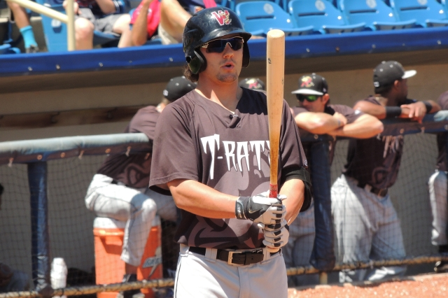 Wisconsin Timber Rattlers C/DH Clint Coulter (Photo by Craig Wieczorkiewicz/The Midwest League Traveler)
