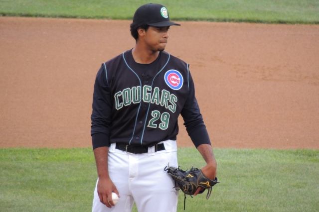 Kane County Cougars RHP Duane Underwood (Photo by Craig Wieczorkiewicz/The Midwest League Traveler)