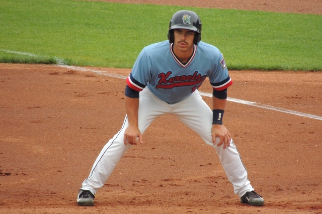 Minnesota Twins prospect Jason Kanzler played for the Cedar Rapids Kernels earlier this year. (Photo by Craig Wieczorkiewicz/The Midwest League Traveler)