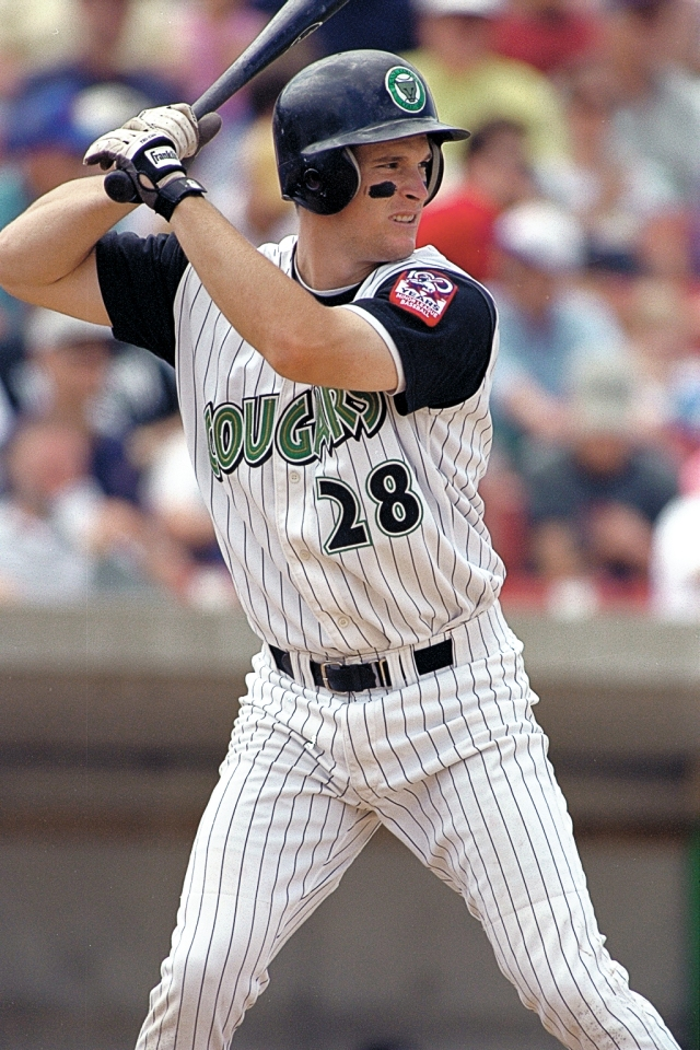 Josh Willingham played for the Kane County Cougars in 2001. (Photo from The Cougars Den)