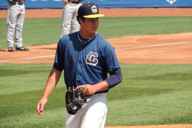 Lake County Captains LHP Luis Lugo (Photo by Craig Wieczorkiewicz/The Midwest League Traveler)