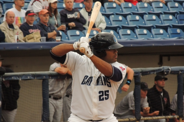 Lake County Captains 1B Nellie Rodriguez