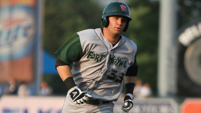 Fort Wayne TinCaps OF Nick Schulz (Photo by Emily Jones/MiLB.com)