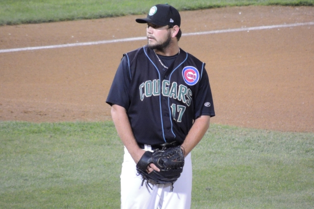Kane County Cougars RP Tyler Ihrig