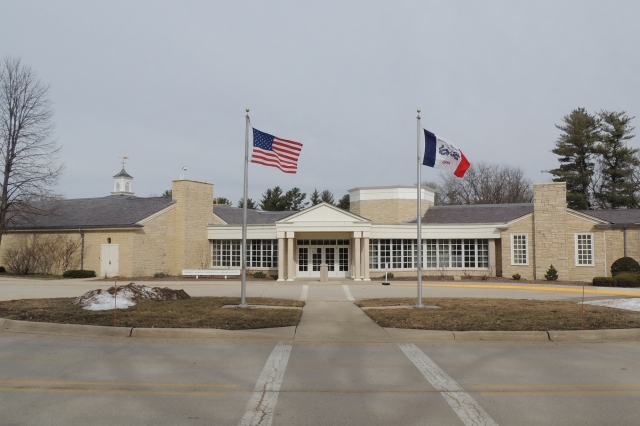 The Herbert Hoover Presidential Museum in West Branch, Iowa