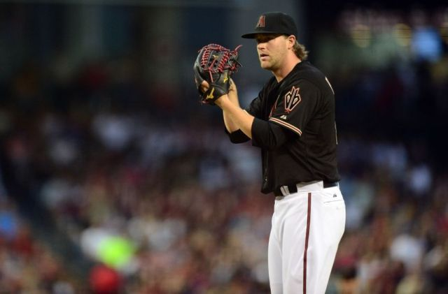 Arizona Diamondbacks pitcher Archie Bradley beat the Los Angeles Dodgers to earn a win in his MLB debut at Chase Field on Saturday. (Photo by Joe Camporeale/USA TODAY Sports)
