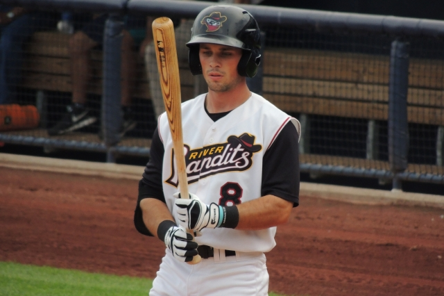 OF Bobby Boyd played 20 games with the Quad Cities River Bandits last year. (Photo by Craig Wieczorkiewicz/The Midwest League Traveler)