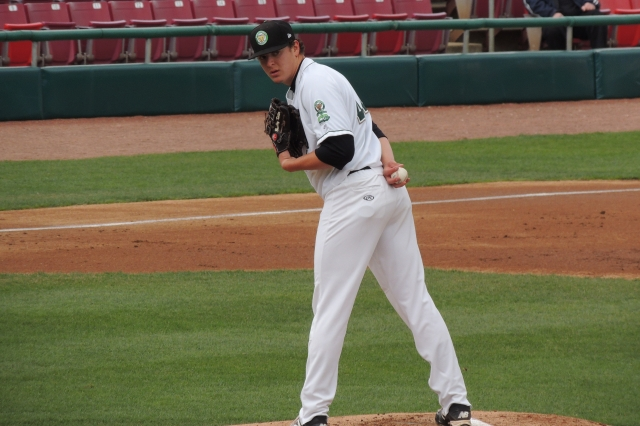 Kane County Cougars SP Brad Keller struck out 10 batters Wednesday.