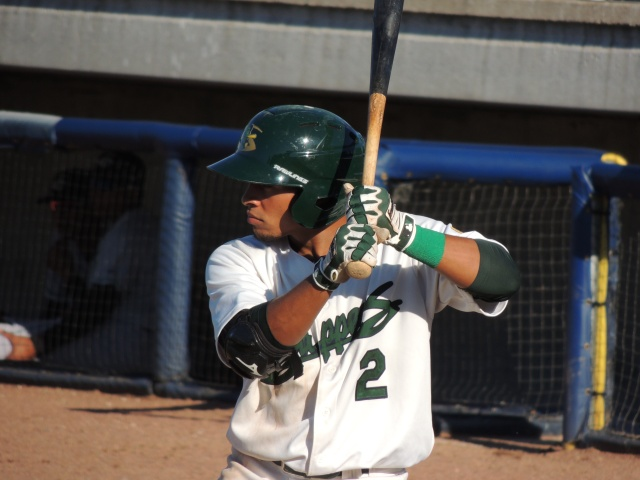 Former Beloit Snappers infielder Melvin Mercedes played all nine positions in a single game Saturday. (Photo by Craig Wieczorkiewicz/The Midwest League Traveler)