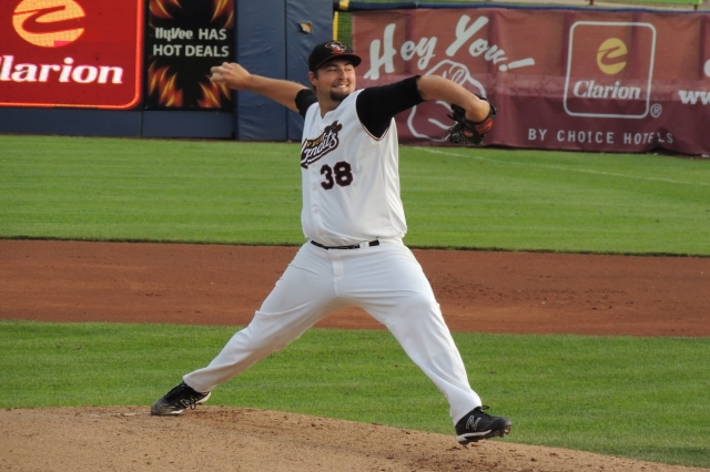 Quad Cities River Bandits RHP Austin Chrismon