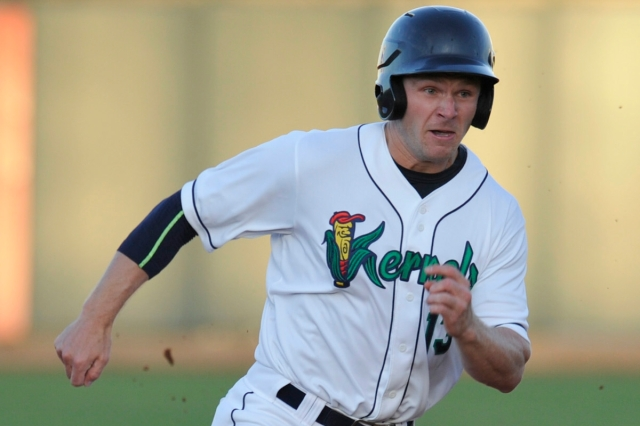 Cedar Rapids Kernels OF Max Murphy (Photo by Dennis Hubbard/Sports N More Photography)