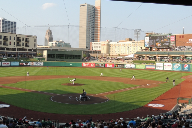 Fort Wayne's Parkview Field was voted the best Class A ballpark in a recent Ballpark Digest contest. (Photo by Craig Wieczorkiewicz/The Midwest League Traveler)
